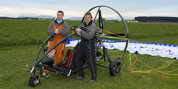 Christian Diermeier und Hans Schirmer